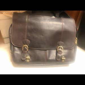 Samsonite Genuine Leather Briefcase